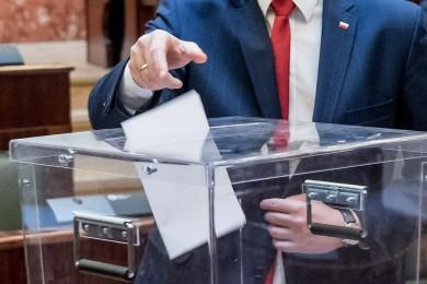 Głosowanie. fot. arch UMWS Tomasz Żak