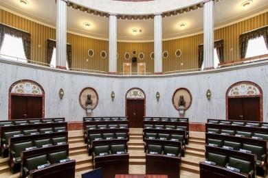Sala Sejmu Śląskiego, fot. arch. BP Tomasz Żak